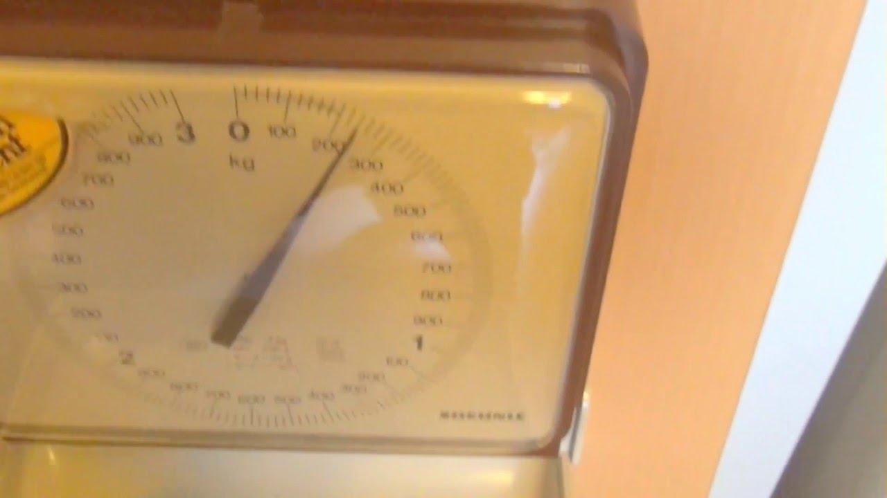 Soehnle Wandwaage Kuchenwaage 70 Er Jahre Wall Scale Kitchen Scale