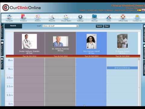 How to Make an Appointment on the Our Clinic Online Diary English.mp4