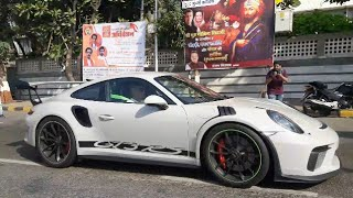SUPERCARS IN INDIA |MUMBAI 2019 |FERRARI 458 ITALIA, AUDIR8 , HURACAN PERFOMANTE, PORSCHE GT3RS |