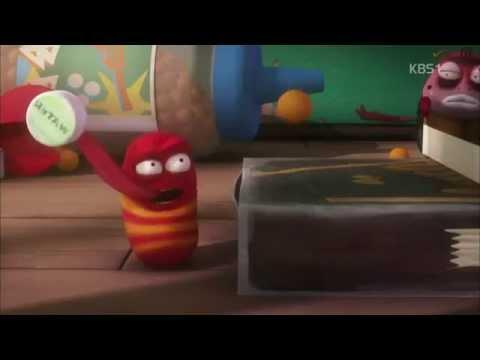 Hoạt hình hài hước - 2 con sâu tinh nghịch- Hoạt hình Larva cười đau ruột - Timemart.vn