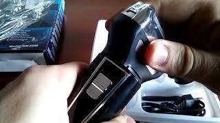 Kemei KM - 6558 Reciprocating Three Blades Electric Shaver - EU PLUG - Gearbest