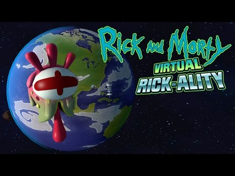 Rick and Morty Virtual Rick-ality - Clone Morty Saves The World! - Rick and Morty Game Ending