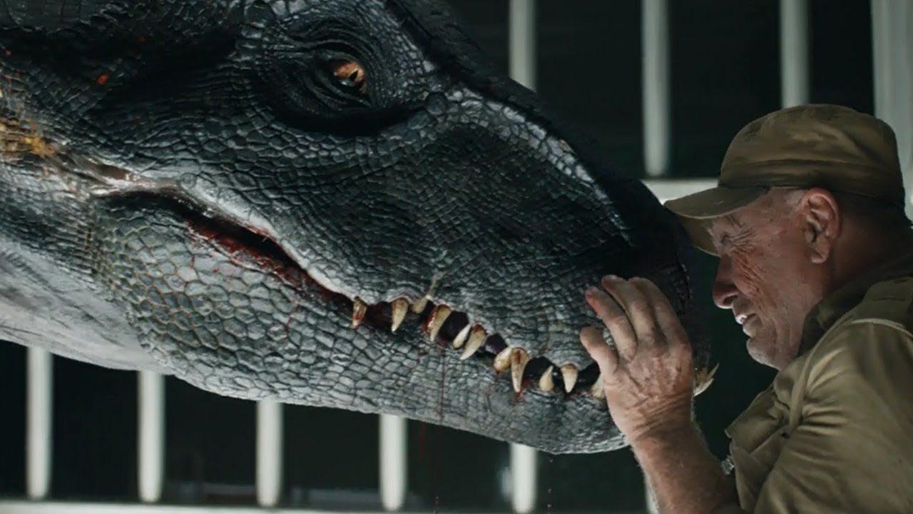 Download Jurassic World: Fallen Kingdom (2018) - The Jaws of the Indoraptor Scene