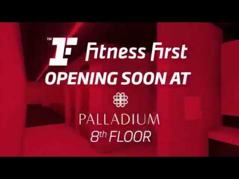 Sneak Peek- Fitness First, Palladium Mumbai