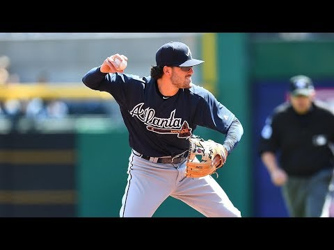Dansby Swanson Practice Footwork