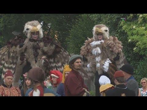 Historische optocht Graafschapsfeesten Horn