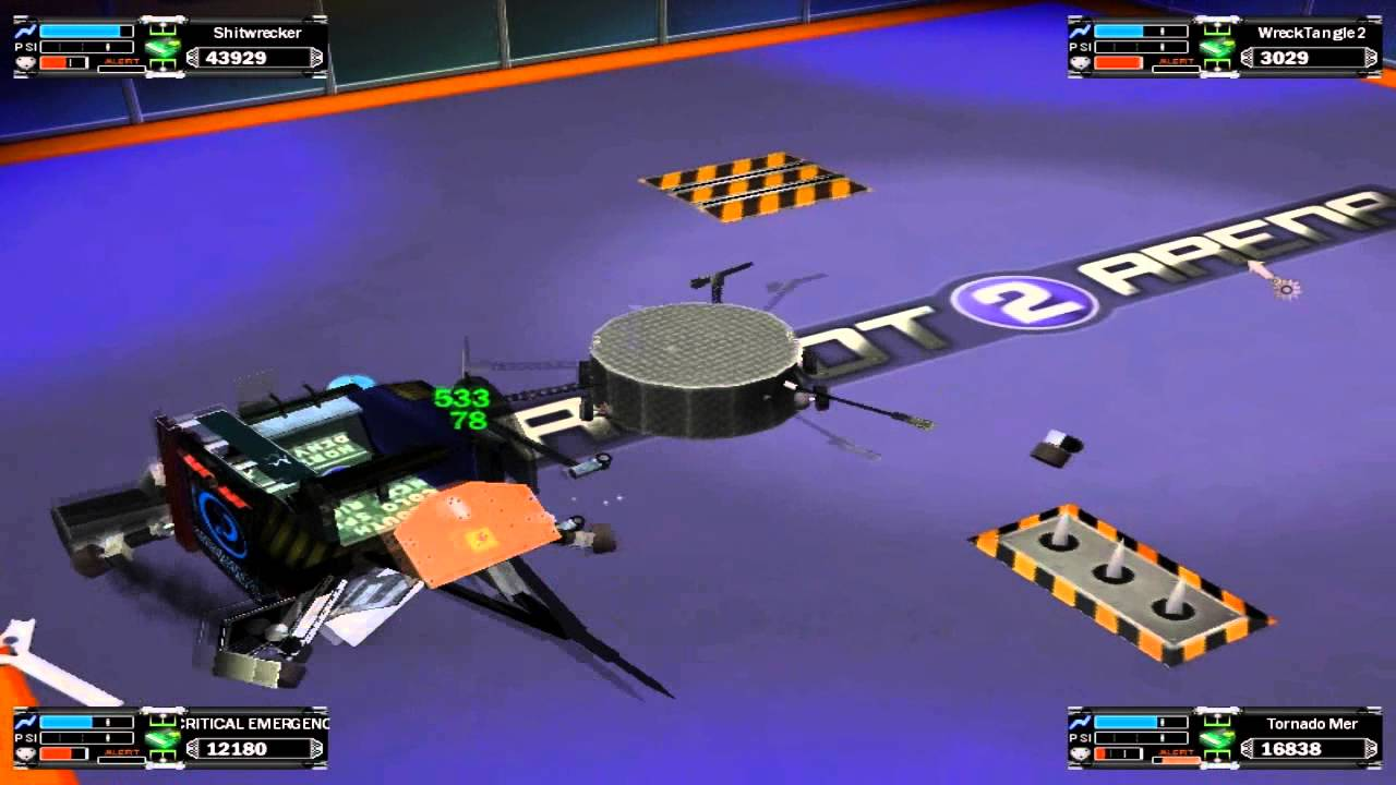 Bot Arena 3 Hacked
