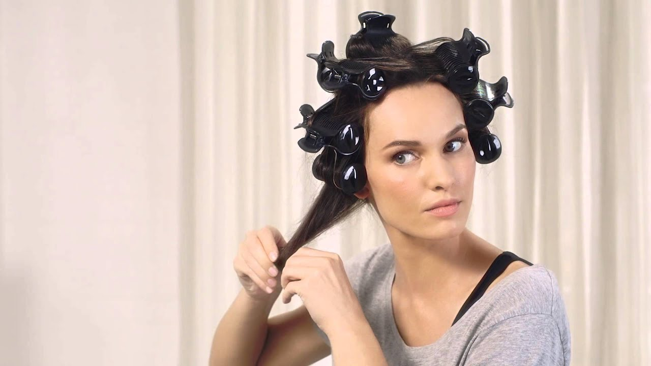 How to use babyliss thermo ceramic rollers youtube.