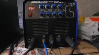 Обзор аппаратa AuroraPro Inter TIG 200 AC/DC Pulse