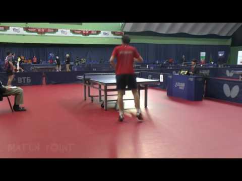 CHO Eonrae - MERZLIKIN Taras. 2016 ITTF World Tour Belarus Open