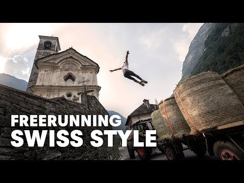 Freerunning In The Swiss Alps | with Dom di Tommaso