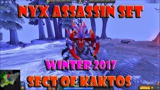 Winter 2017 Treasure III : Nyx Assassin Set - Sect of Kaktos Dota 2