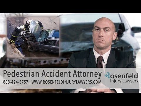 Chicago Pedestrian Accident Attorney | Get Help Now!!