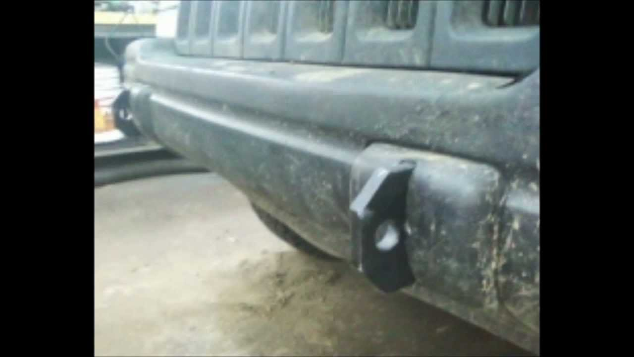 How To Make Proper Front Tow Hooks Jeep Zj Youtube