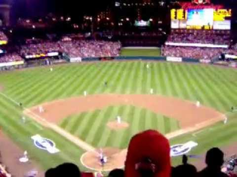 St Louis Cardinals 2006 World Series Game 4 Win Over The Detroit Tigers