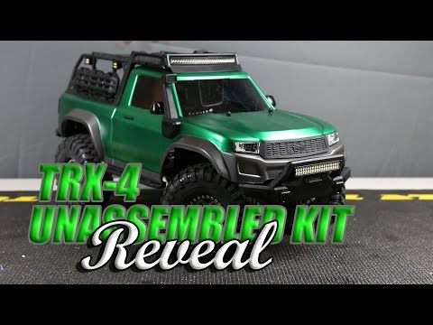 Traxxas TRX 4 Sport Unassembled Build Reveal