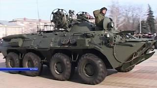 Парад военной техники в Валуйках