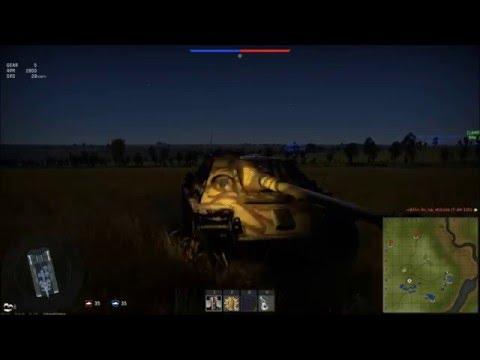 Ночные бои РБ (без маркеров) War Thunder v1,57
