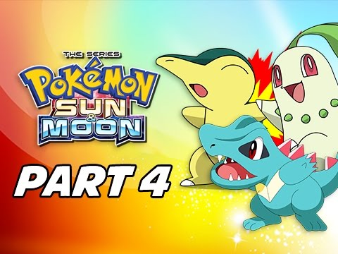 Pokémon Sun & Moon Walkthrough Part 4 - How to Catch Johto Starters (3DS Let's Play Gameplay)