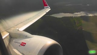 POWERFUL ROAR! Norwegian 737-800 Morning Takeoff from Gothenburg Landvetter!