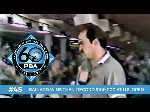 PBA 60th Anniversary Most Memorable Moments #45 - Ballard Wins Then-Record $100,000 Prize