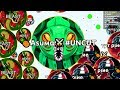 Agar.io - The Most INSANE Cannonsplit! Uncut Gameplay ft. Pine (Agario)