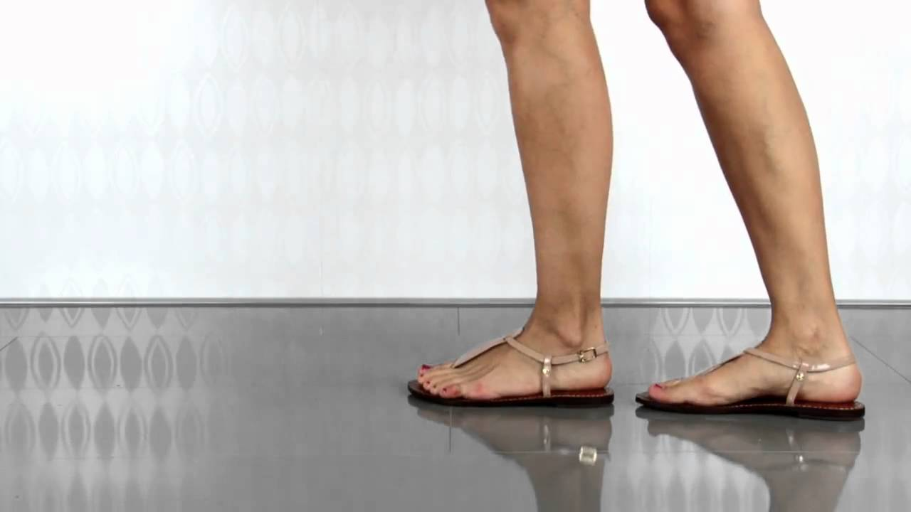 d50fe0d021ab Sam Edelman Gigi in Almond Patent - YouTube