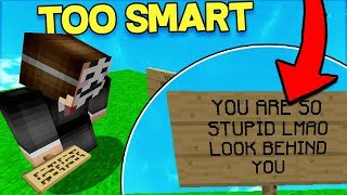 HACKER OUTSMARTS me and makes me look STUPID! (Catching Hacker Games)