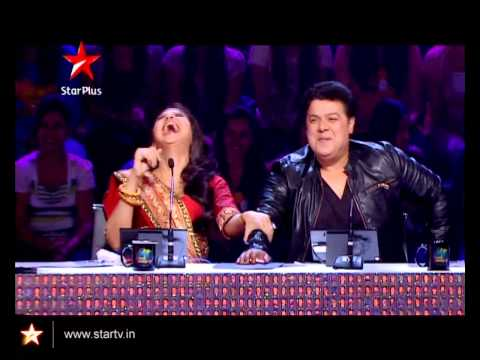 Watch Rahul Mahajan perform a very difficult stunt on Nach Baliye 5
