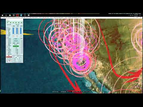 10/08/2017 -- 3 large earthquakes strike Pacific in 1 day -- Unrest spreading -- be prepared - 동영상
