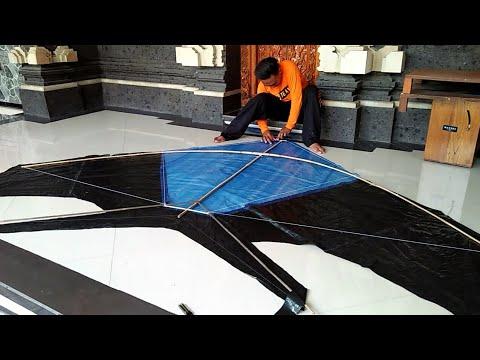Cara Membuat Layangan Cotek Pindang Asli Terbang.