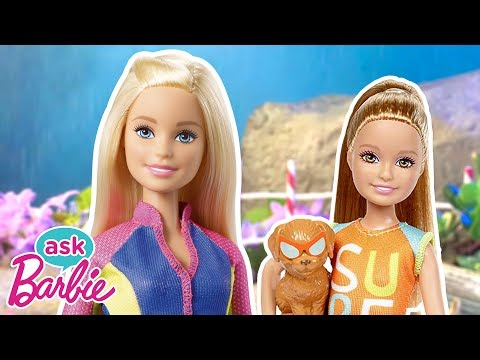 Ask Barbie About Her Friends and Family! | Barbie