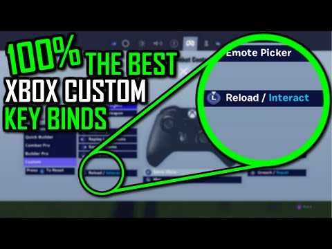 100% THE BEST Xbox KEY BINDS (Not Clickbait) Fortnite Battle Royale