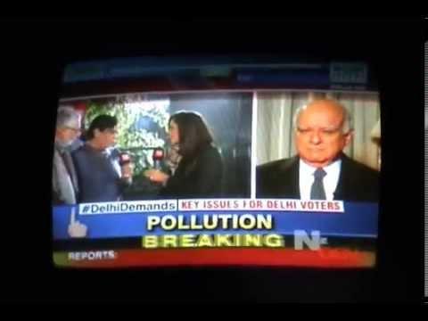 CNN IBN : Delhi Demands : B S Vohra on Water & Electricity issues