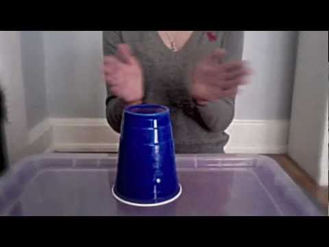 How to do the cup song from pitch perfect, originally from Lulu and the Lampshades