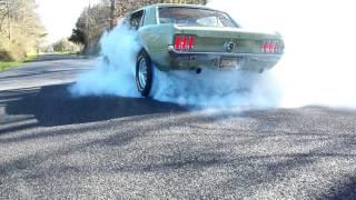 1967 Mustang 289 Burnout