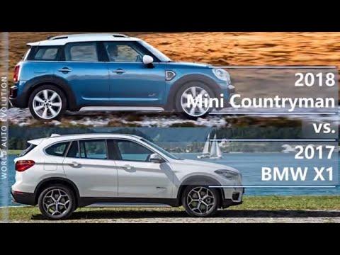 2018 Mini Countryman Vs 2017 Bmw X1 Technical Comparison Youtube