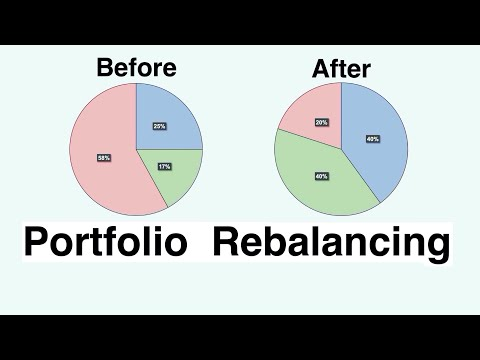 "Video #95)  ""Why"" Portfolio Rebalancing is so important"