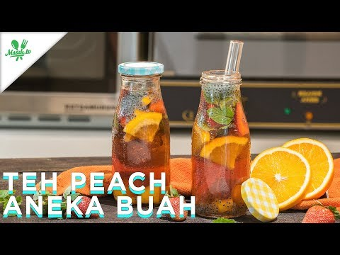 Resep Teh Peach Aneka Buah | Ralali.com & Unilever Food Solutions Indonesia