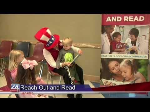"Gadsden Pediatrics Introduce ""Reach Out and Read"" Program"