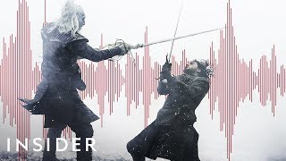 How The Battle Scene Sounds In 'Game Of Thrones' Are Made | Movies Insider