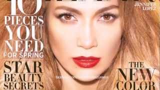Jennifer Lopez Covers Harper's Bazaar Feb 2013 (Behind the Scenes)