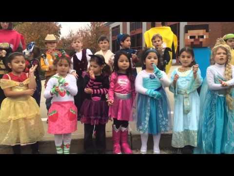 Halloween en Washington Drive Primary School 2014