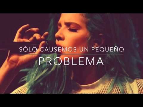 Trouble - Halsey (Español)