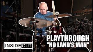 PATTERN-SEEKING ANIMALS - No Land's Man (Drum Playthrough with Jimmy Keegan)