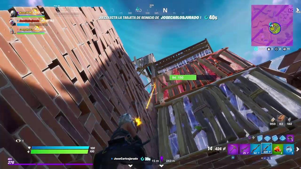 Amazing triple kill - Fortnite - YouTube