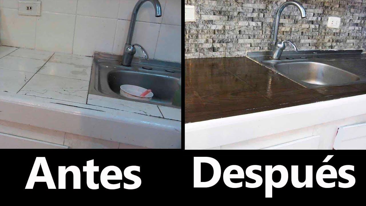 Remodelaci n de cocina con poco dinero low cost kitchen Como remodelar una casa vieja con poco dinero