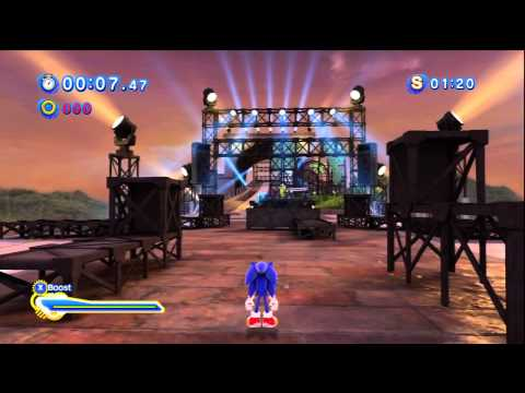 Sonic Generations - Part 14 (Modern Era Boss Keys)