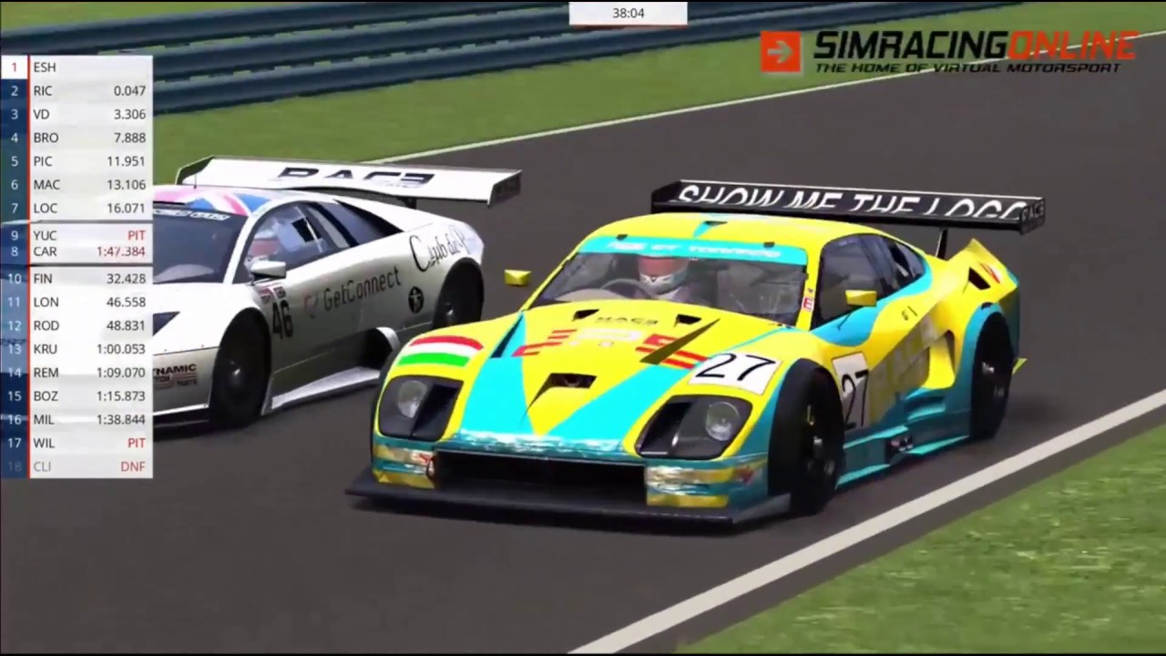 Assetto Corsa - General info & series rules | Sim Racing Online