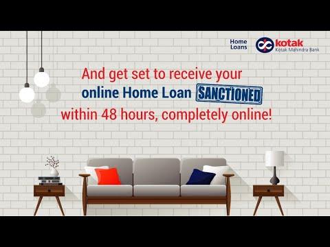 Kotak Digi Home Loans - Get Your Home Loan Sanctioned Digitally.